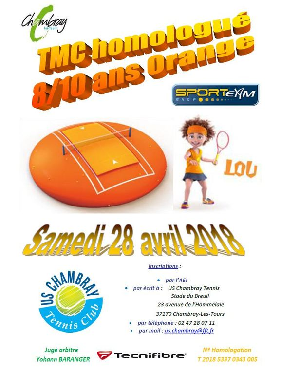 TMC 8/10 ans Orange