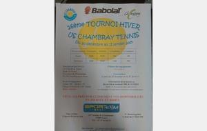 Tournoi Open Chambray les Tours